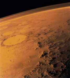 Martian atmosphere. ©Wikipedia