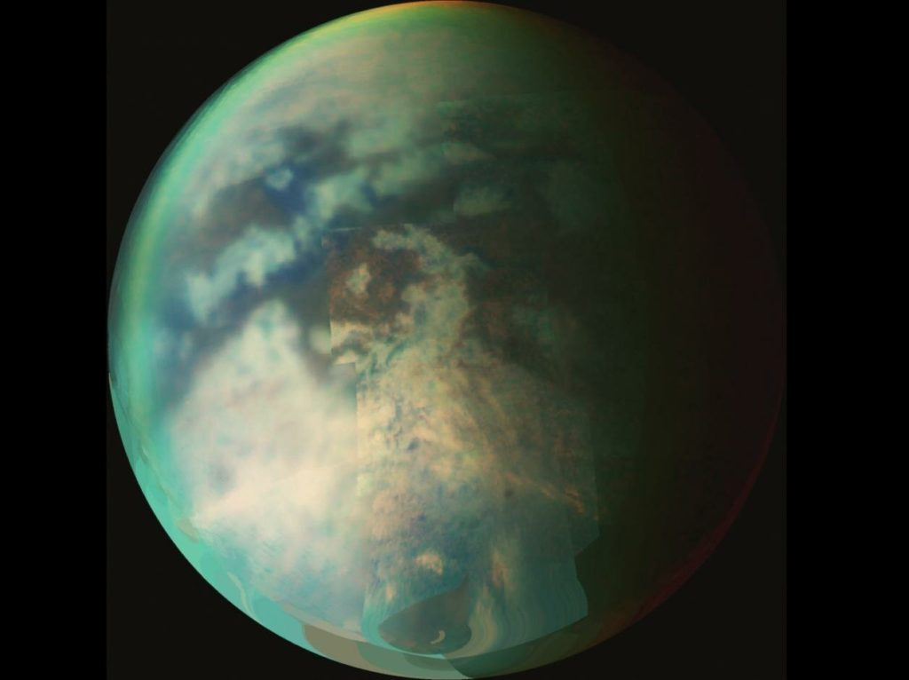 Astronomers Found Evidence of a Curious Weather Phenomenon on Titan