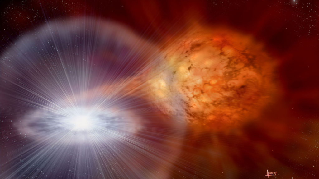 A Specific Kind of Stellar Outburst produces the Stardust Grains