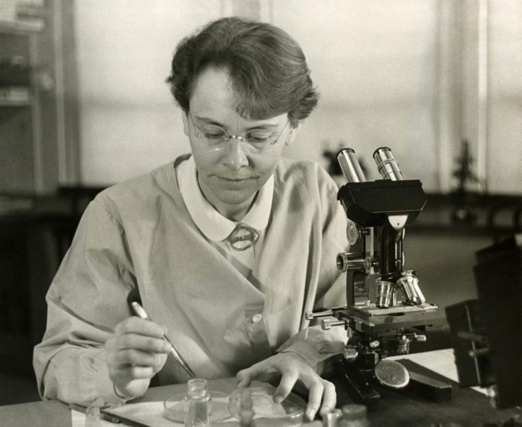 Barbara McClintock - scientific women
