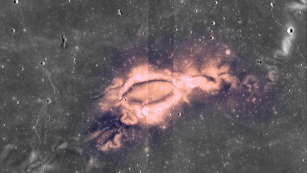LAMP Sheds Light on Lunar Water Molecules