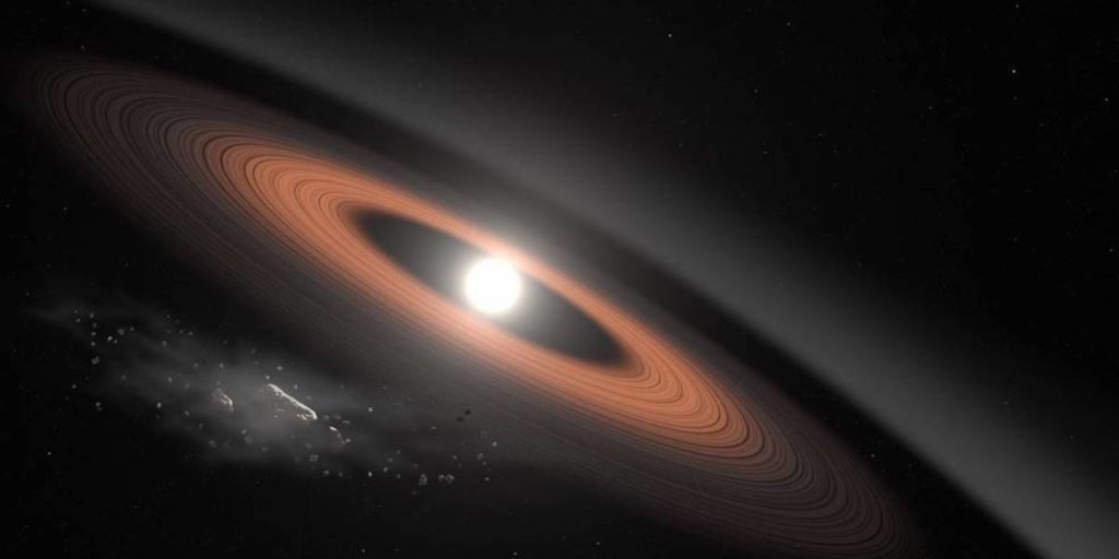 Researchers Found New Dust Rings in the Inner Solar System