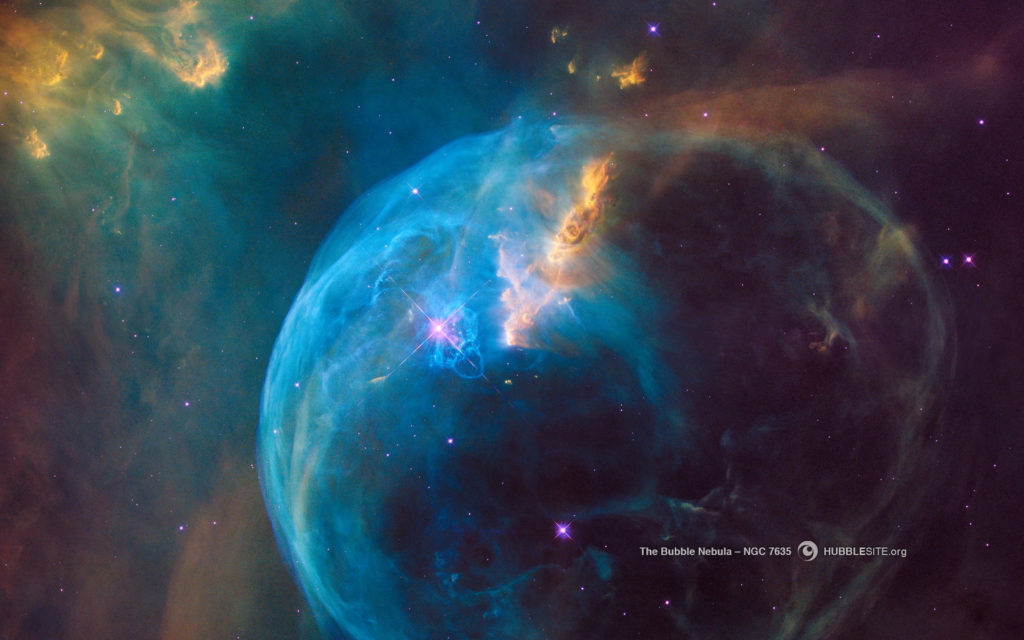 Bubble Nebula - Space Images