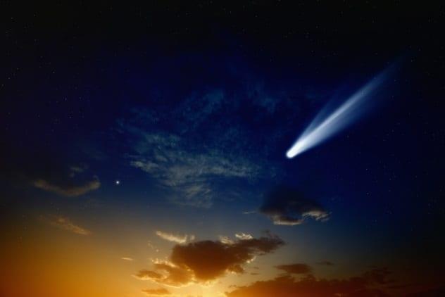 Great Comet of 1264 - Missing Comets