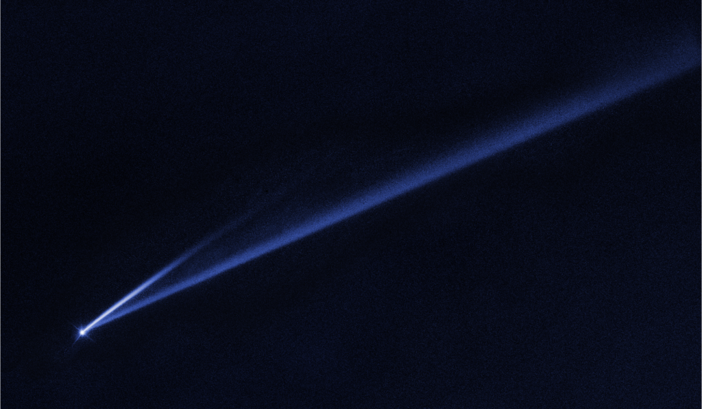Hubble Watches Asteroid Gault Coming Apart