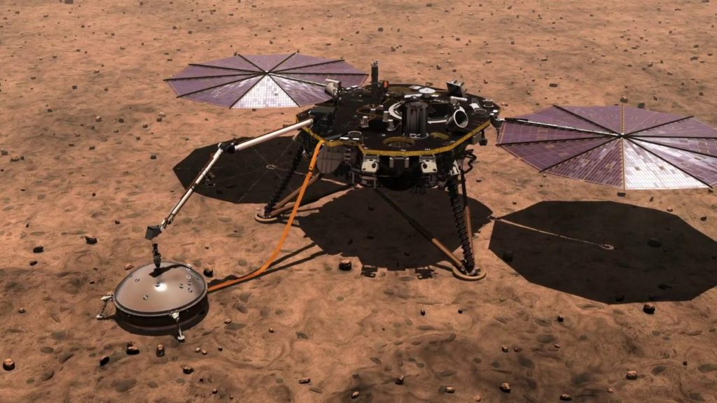 InSight Spacecraft- Astronomical World Absolute Knowledge