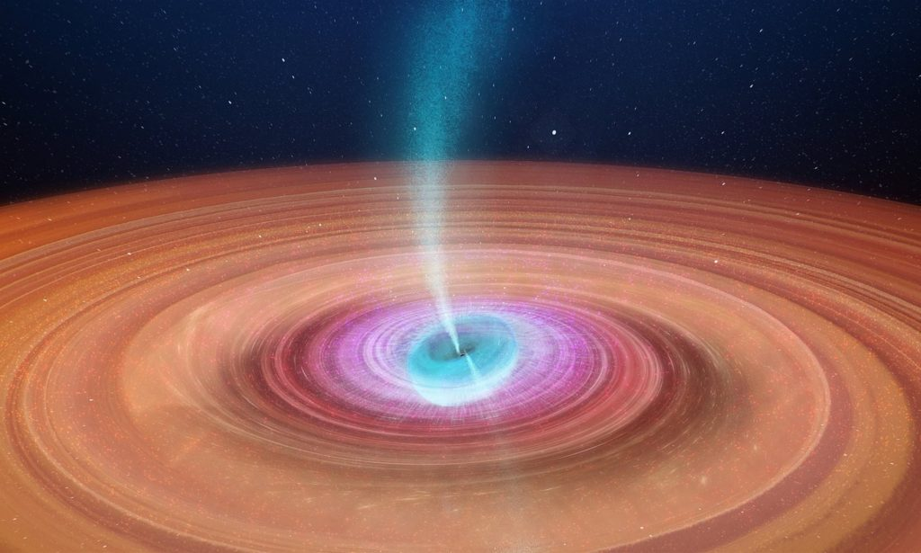 A Weird Black Hole, called V404 Cygni, is Throwing off Wobbly Jets