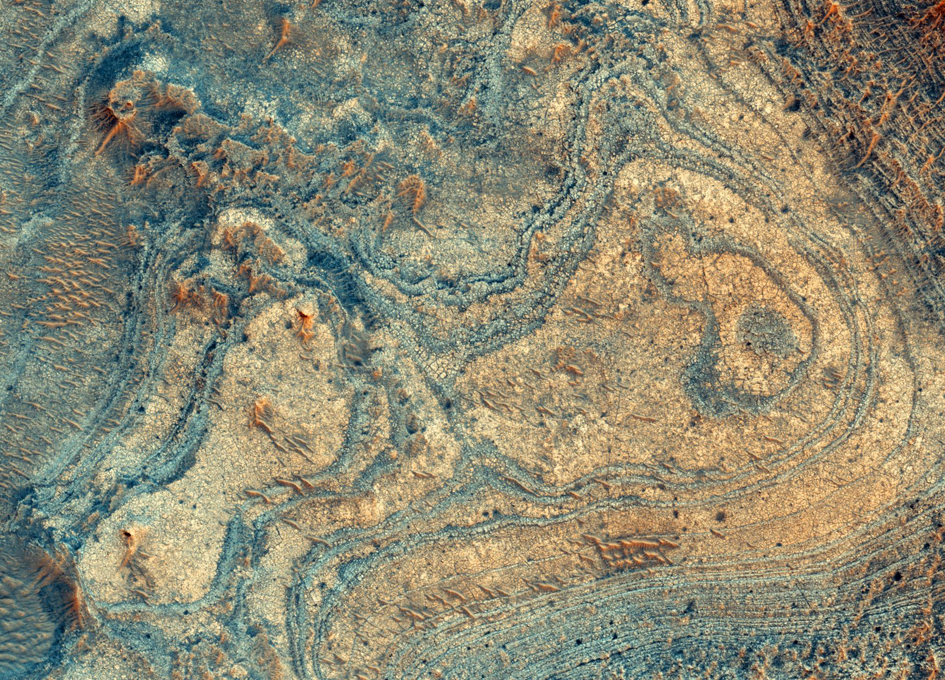 Ancient Volcanic Eruptions Produced a Mineral Deposit on Mars