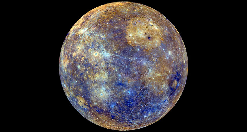 Mercury has a Solid Inner Core