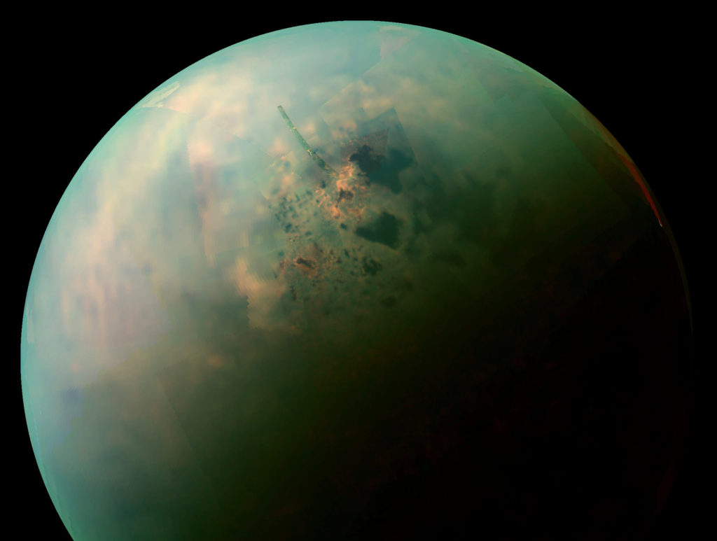 Scientists Find a Massive Ice Corridor on Titan
