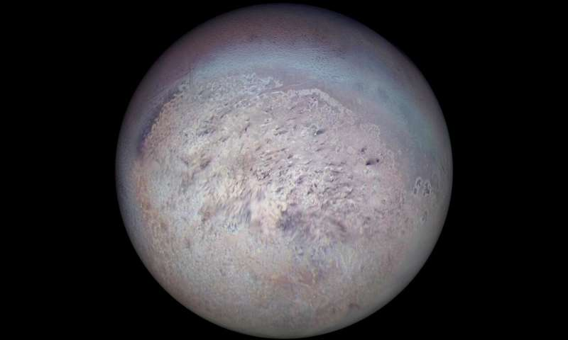 Triton Fosters Rare Icy Union Between Carbon Monoxide and Nitrogen