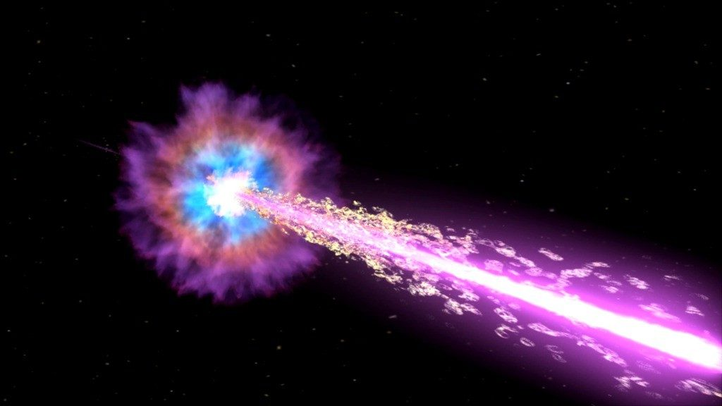 Gamma-ray Burst - Mass Extinction