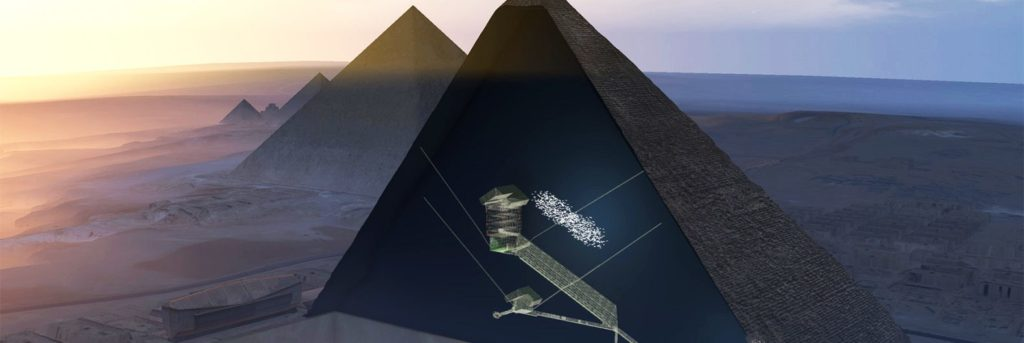 Hidden Chamber in the Great Pyramid - Egypt