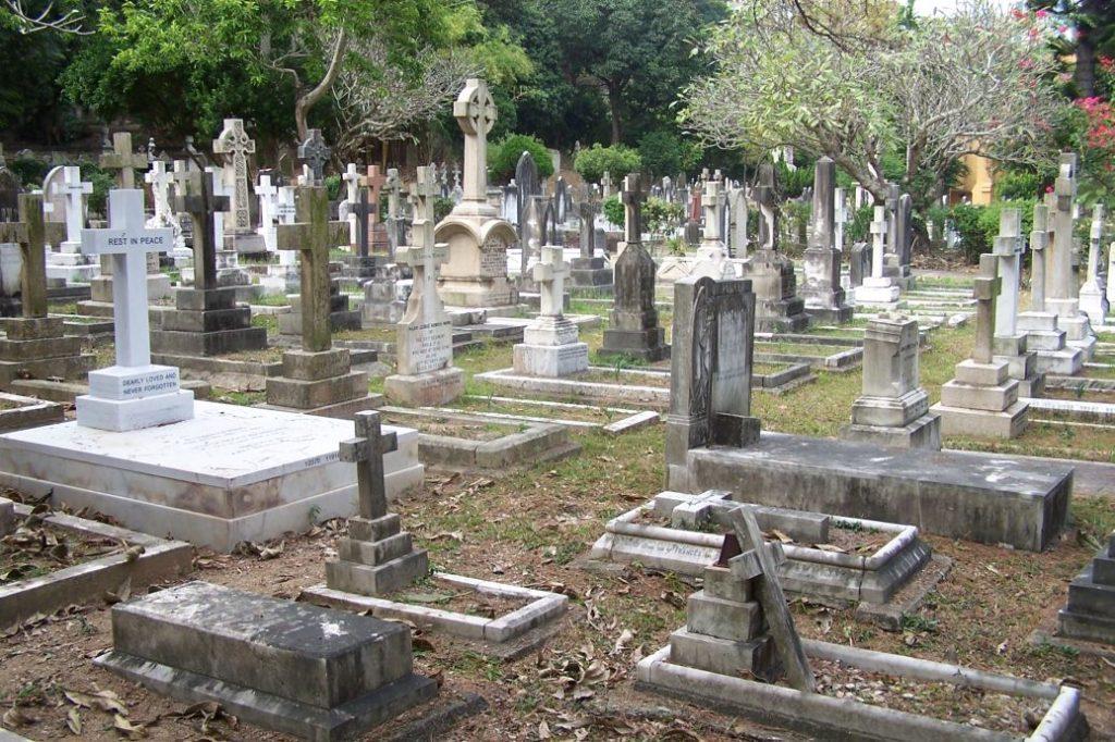 Hong Kong - Grave Space