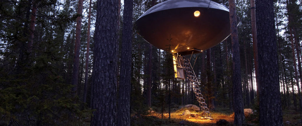 UFO Hotel - Unusual Hotels