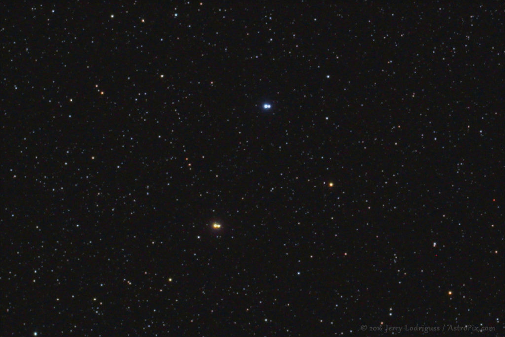 The Double Double Star - Peculiar Stars