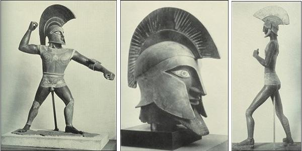 Three Etruscan Warriors - Fake Artworks