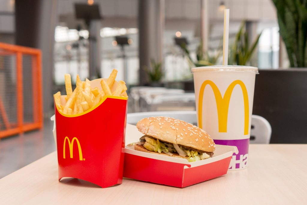 Menu Manipulations of McDonald's