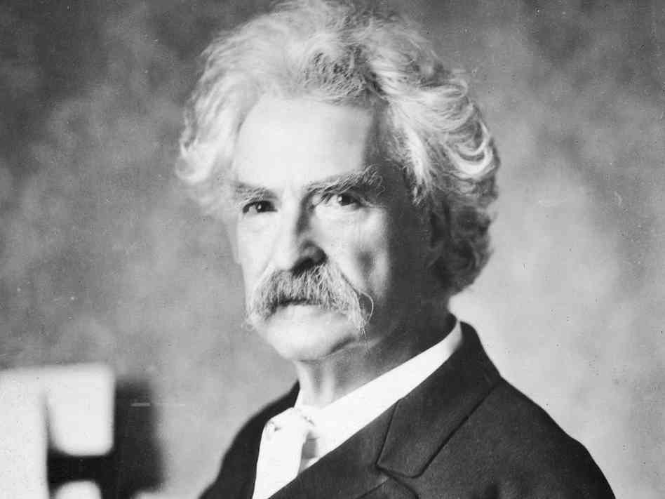 The Death of Mark Twain