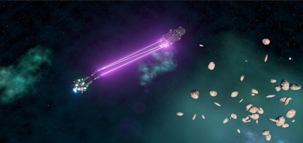 Visible Laser Beams - Space Myths