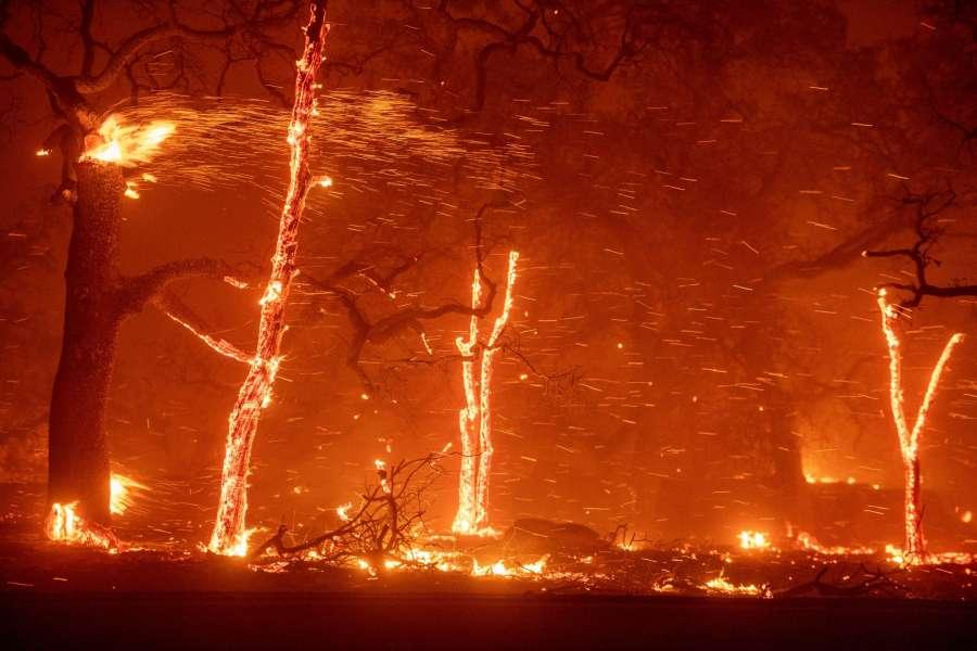Pillars of Flame - Terrifying Storms