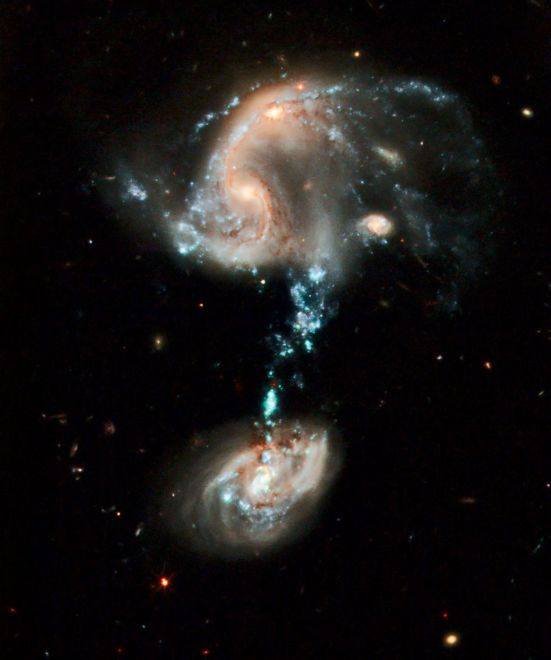 The Triple Galaxy Collision - Scariest Things