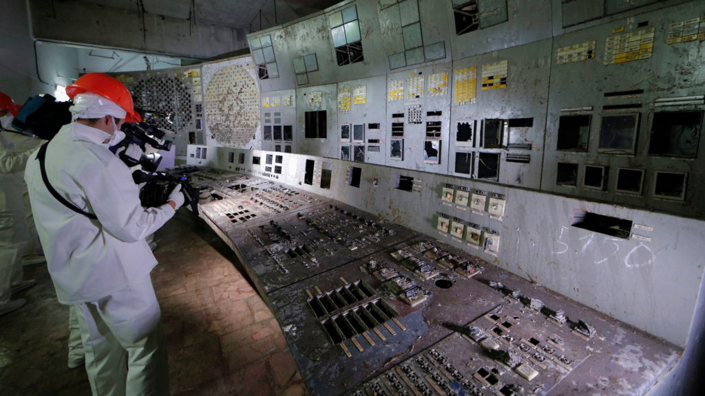Chernobyl Control Room - Tourist Spots