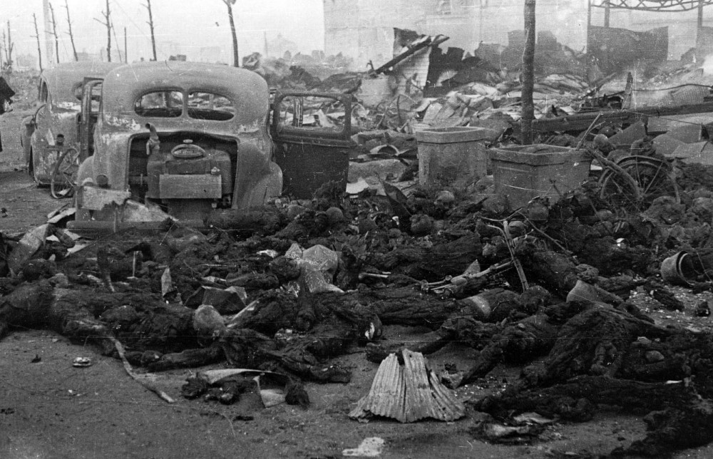 Firebombing Raids during WWII