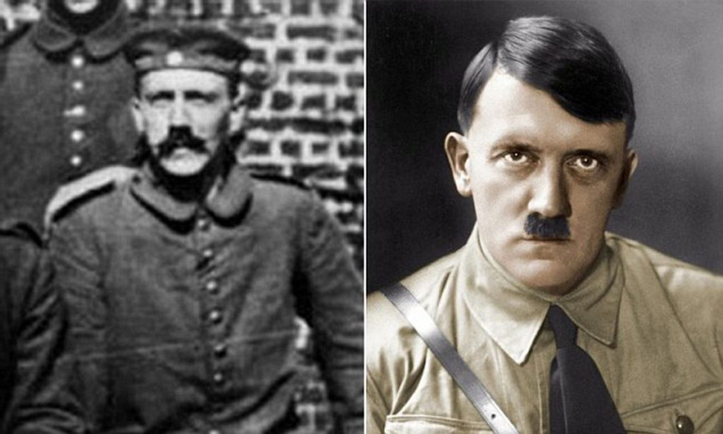 Toothbrush Moustache