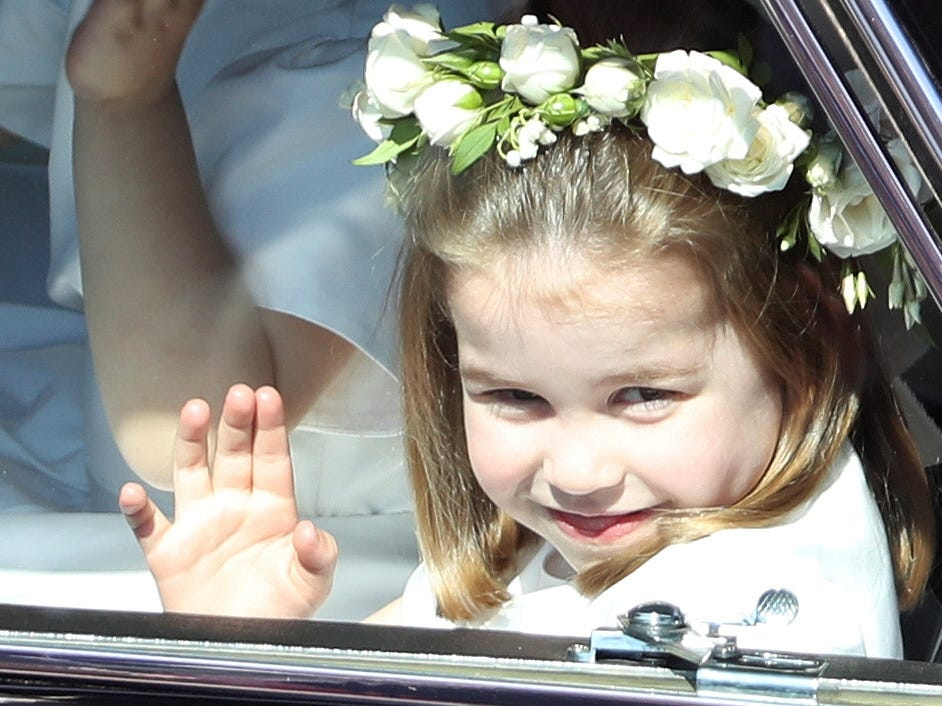 Princess Charlotte (5 Billion) - Richest Children