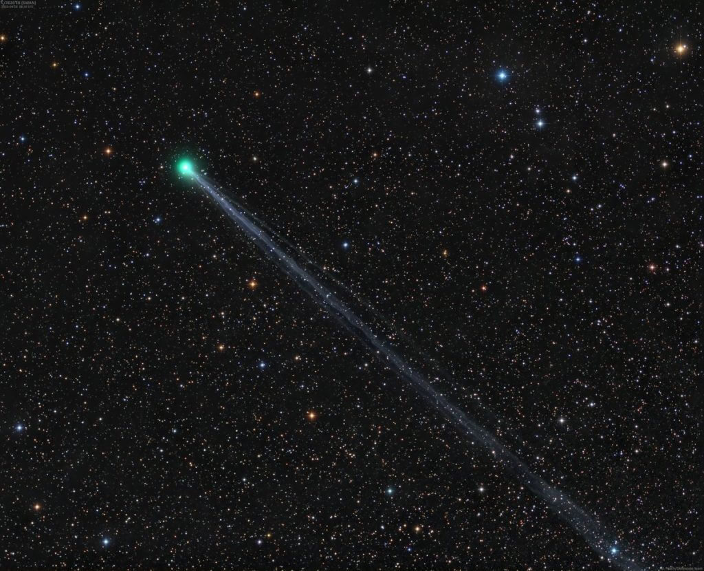 Comet Swan Visible to Naked Eye - Astronomical Events