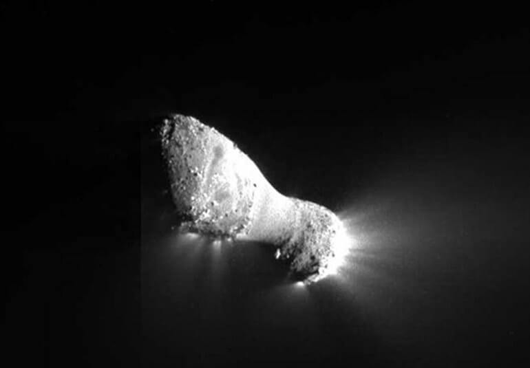 A Tailless Comet - Comets