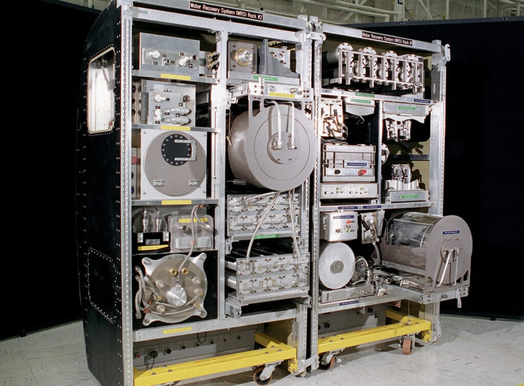 Water Recovery System of ISS